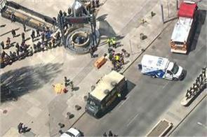 toronto vans crushed passengers 4 people died