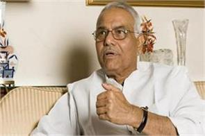 yashwant sinhas resignation big blow to bjp