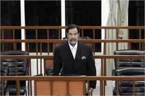 saddam hussein s body disappeared inside the grave