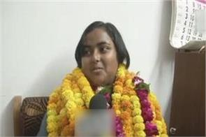 up board result 2018 tapping the high school anjali wants to become scientist