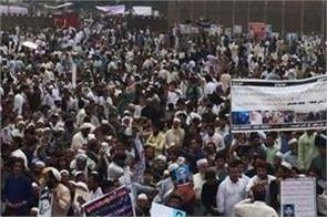 rally in peshawar demanding constitutional rights for pashtuns
