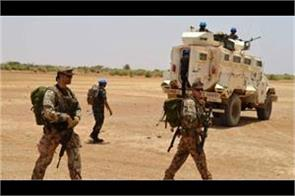 militant assault on un and french targets in mali 10 soldiers injured