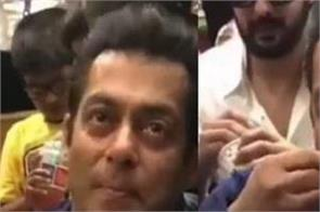 salman khan visited school to meet the children viral video