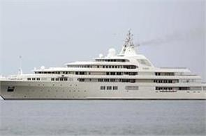 divorce battle strands russian billionaire s yacht in dubai