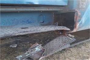 rail track entered in train bins