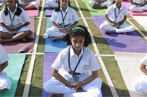 yoga helps children overcome stress