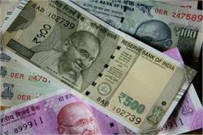 against dollar rupee 4 paise