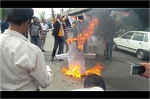 bar association jammu s protest during bandh