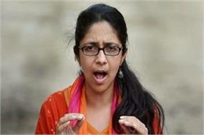 swati maliwal sitting on an indefinite hunger strike