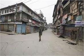 parts of budgam shut mourning last year s civilian killings