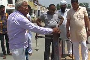 kisan morcha district magistrate gorasi visits mandi