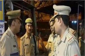 heading of the head constable in srikrishna janmabhoomi camp firing stir