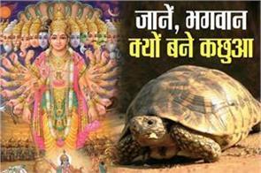 kurma jayanti know why does lord vishnu become tortoise