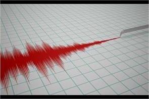 earth quake jolts jammu kashmir