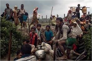 monsoon season threatens to create thousands of rohingya refugees