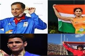22 haryanvi players won medal in cwg