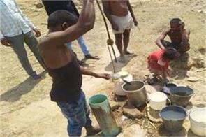 madhya pradesh shahdol water crisis baiga village