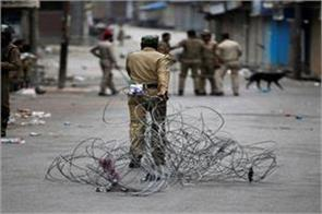 curfew in ganderbal after youth s death in kashmir