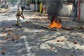 demonic demonstration of dalits on bharat bandh