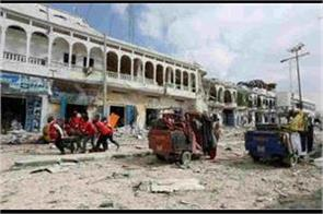 suicide attack in somalia 4 military officers death