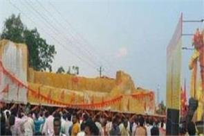 when police stopped hanuman statue