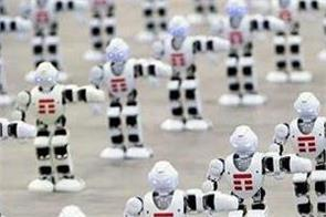 1300 robots made the guinness world records together