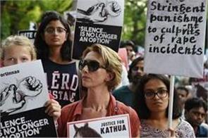 indian american protest against kathua unnao rape scandal