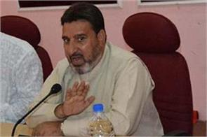 control your emotions and resume classes altaf bukhari to students