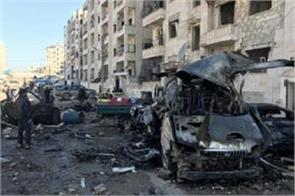 eight civilians die in new air raids in duma captured by rebels in syria