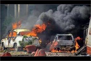 madhya pradesh bharat band muraina fire parshad