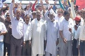 part time workers protest in secretariat