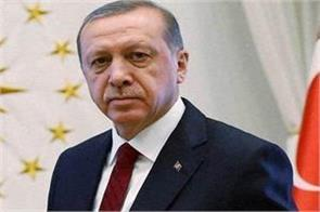 turkish president erdogan welcomes welcome attack on syria