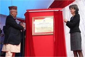 nepalese prime ministers office glimmed by chinas solar power