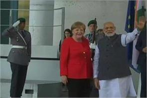 pm modi arrives in berlin after uk visit to germany chancellor angela merkel
