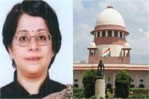 senior advocate indu malhotra may become supreme court judge