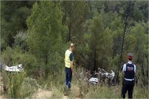 3 people die in plane crash in spain