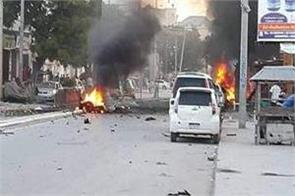 somalia blast five killed in 10 injured