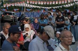 malaysia elections mahatir confident of victory with strong advances