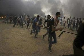 170 palestinian injured in israeli army attack