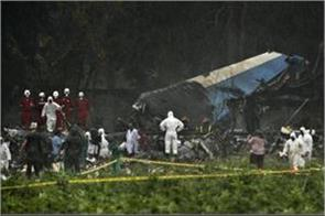 cuba 110 people die in plane crash three situation delicate