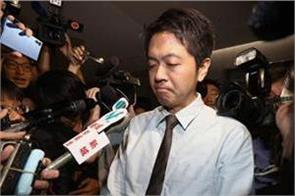phone snatching lawmaker ted hui suspended by democratic party
