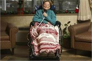 the oldest person in america died was ever told the secret of long life