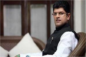 i am not in the race for cm post dushyant chautala