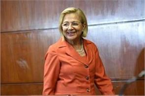 first woman to become president in paraguay