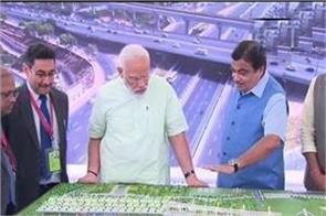 pm modi inaugurates eastern peripheral express