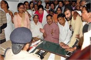 kishore upadhyaya reached the police station on arrest