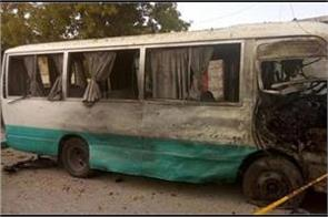 suicide bomber targets pakistan atomic energy commission s bus