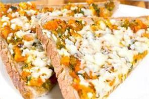 cheesy masala toast