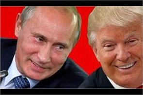 trump congratulates putin on his inauguration