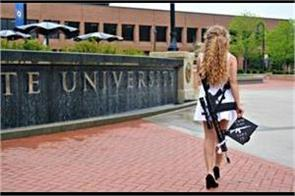 usa girl shot with photoshoots in college as well as threats